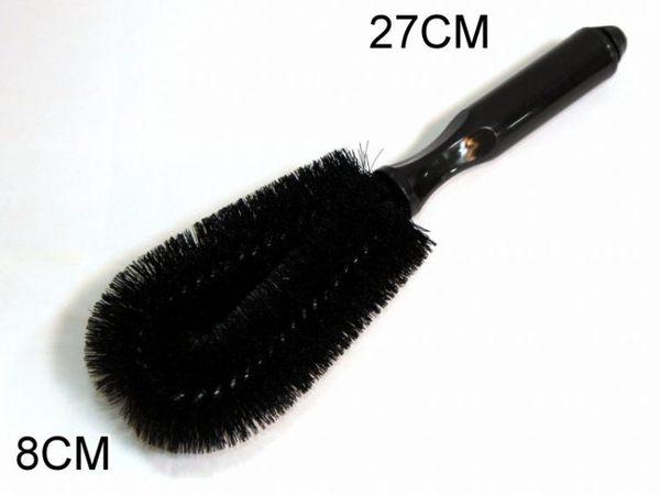 【洪氏雜貨】 279A075 雙尖刷 不挑色隨機出貨 單入 洗車工具輪胎刷 清潔用品