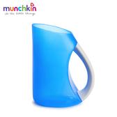 munchkin滿趣健-寶寶洗頭不哭軟式水瓢-藍