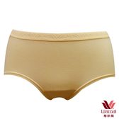 【華歌爾】新伴蒂內褲M-LL中腰一般裾三角款(沙礫褐)(未滿3件恕無法出貨,不可退換貨)