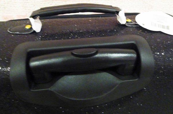 【震撼精品百貨】Hello Kitty 凱蒂貓~29吋行李箱-黑閃亮【共1款】