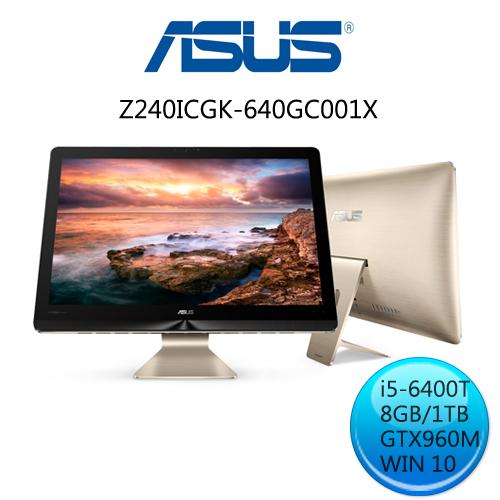 華碩 Z240ICGK-640GC001X i5 四核獨顯 Win10液晶電腦