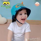 兒童童帽 伊米倫純棉嬰兒帽子0-9-12月兒童盆帽漁夫帽薄款男寶寶遮陽帽純棉 寶貝計畫