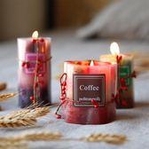 喬安娜浪漫無煙香熏蠟燭創意香氛蠟燭擺件制造浪漫3款選 快速出貨八八折柜惠