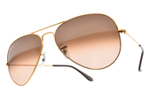 RayBan 太陽眼鏡 RB3025 9001A5 (金) 經典百搭款 飛官墨鏡 # 金橘眼鏡