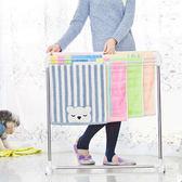 ✭慢思行✭【W10】斜面不鏽鋼晾曬架 毛巾 曬衣 浴巾 多杆 落地式 內衣 抹布 室內 陽台 置物