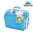MOKUYOBI / Bedford Bag / L.A 空運繽紛多功能筆電手提後背包(附贈補丁徽章) - 天空藍