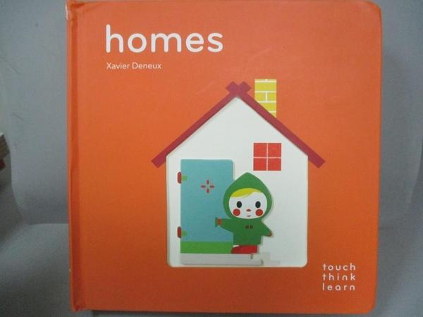 【書寶二手書T5/少年童書_JAB】Homes_Deneux, Xavier