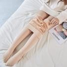 內搭褲 刷毛連褲襪女外穿冬季加厚內刷毛防勾絲絲襪光腿瘦腿連腳連身膚色打底襪