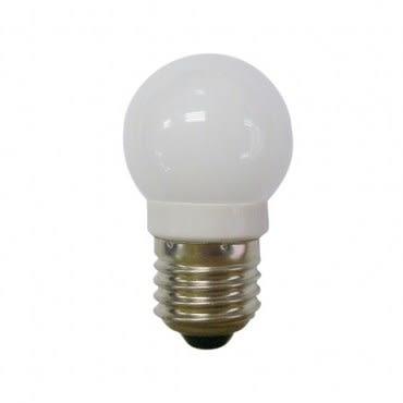 四季光超亮LED磨砂燈泡E27 0.6W 白光