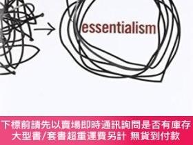 二手書博民逛書店罕見EssentialismY464532 Greg Mckeown Currency, 2014 ISBN: