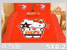 【Jenny Silk名床】我愛 Hello Kitty.標準雙人床包組.全程臺灣製造