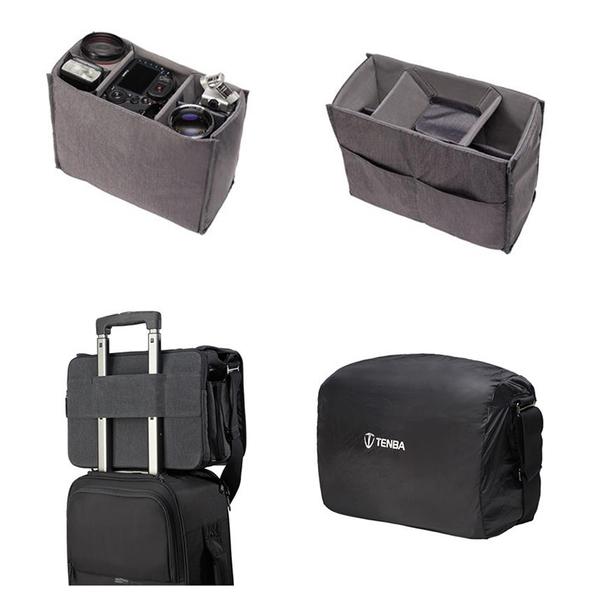 ◎相機專家◎ Tenba Cooper 15 酷拍 肩背帆布包 攝影肩背包 灰色 637-404 公司貨