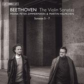 【停看聽音響唱片】【SACD】貝多芬:小提琴奏鳴曲第二集 彼得.齊瑪曼 小提琴 赫爾姆欽 鋼琴