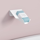 肥皂架創意肥皂盒架免打孔吸盤壁掛式家用北歐鋁合金衛生間瀝水香皂盒新年禮物