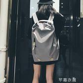 時尚潮流健身旅行背包女超火雙肩包旅游大容量休閒輕便書包男 千惠衣屋