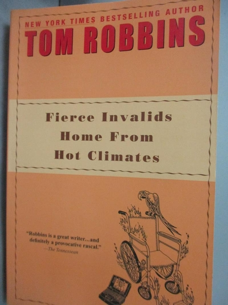 【書寶二手書T5/原文小說_YGG】Fierce Invalids Home from Hot Climates_Rob