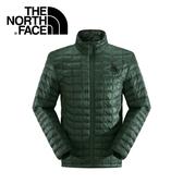 【The North Face 男款 ThermoBall 保暖外套 鴨綠】NF0A2XWW/兜帽夾克/大衣/風衣/媲美羽絨科技★滿額送