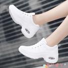 運動鞋運動鞋女2021新款氣墊白色女鞋透氣網面輕便軟底學生跑步鞋夏 愛丫 新品