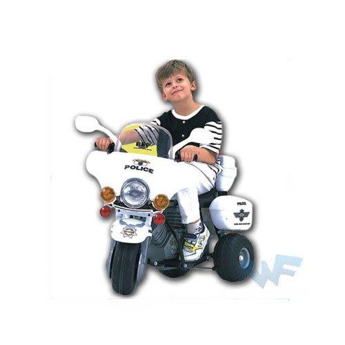 【MIT 精選童車】久達尼電動車系列 - 超級警察摩托車 T805