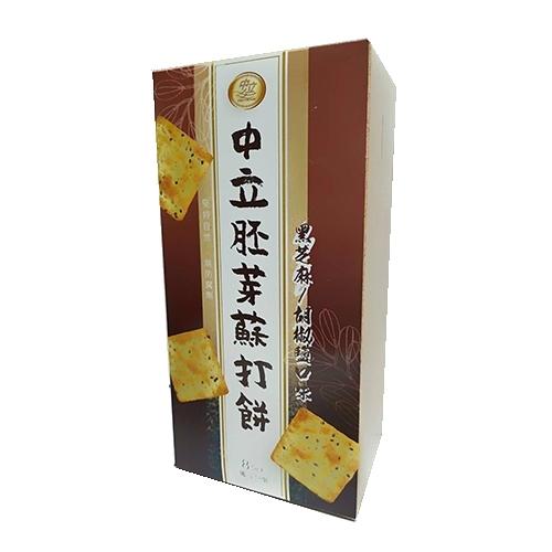 中立胚芽蘇打餅-胡椒鹽口味160g【愛買】