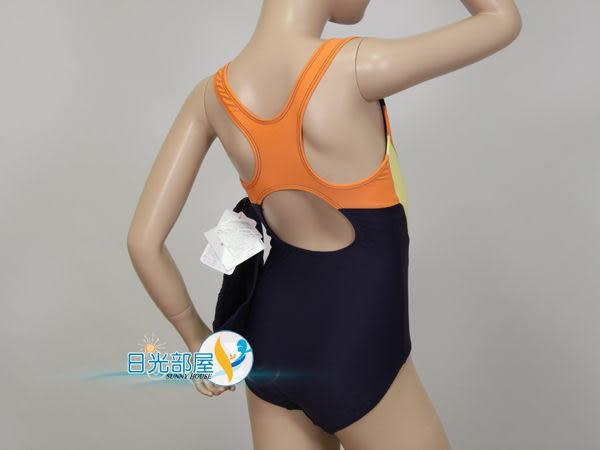 *日光部屋* 奧可那 (公司貨)/AQ12305 中童/女連身三角泳裝(附泳帽/台灣製造)