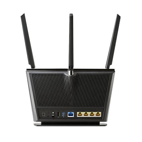 ASUS 華碩 RT-AX68U AX2700 WiFi 6 3T3R強訊號無線路由器(分享器)
