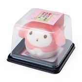 Sanrio 美樂蒂饅頭造型軟軟舒壓玩偶★funbox★_685666
