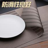 西餐墊歐式防水防油防滑隔熱餐桌墊子耐熱家用餐墊餐盤pvc小奢華  小時光生活館