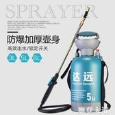 氣壓式澆花噴壺 手動家用農藥消毒液高壓噴霧瓶 小型壓力噴霧神器QM『摩登大道』