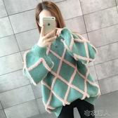 毛衣外套 年新款時尚女士毛衣女裝秋冬裝寬鬆外穿內搭針織打底衫潮洋氣 布衣潮人
