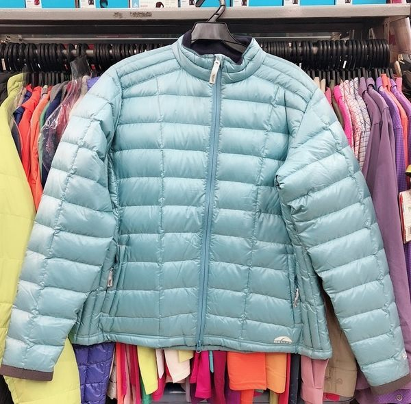 【零碼L,XL號出清45折】美國GOLITE 女款 輕量羽絨保暖外套 800FILL DOWN 209002210 水藍