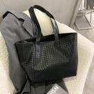 托特包 網紅百搭簡約大容量包包女包2020流行新款潮時尚單肩包休閒托特包 快速出貨