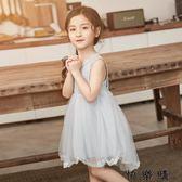 韓版夏季小女孩洋氣裙子公主裙