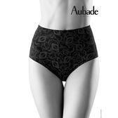 Aubade-無痕S-XL中高腰機能褲(黑膚)CE