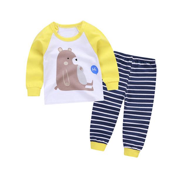 居家套裝 兒童睡衣 薄長袖套裝 寶寶居家服家套裝 兒童睡衣 薄長袖套裝 寶寶居家服 88217