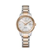 【Citizen星辰】PAIR對錶光動能時尚雙色簡約氣質腕錶-玫瑰金/EW2596-89A/台灣總代理公司貨享兩年保固