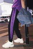 新款寬鬆休閒褲男士韓版束腳褲百搭哈倫褲青少年個性運動褲子