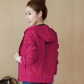 兩面穿棒球服女春秋休閒秋冬裝韓版bf寬鬆棒球外套短款夾克衫