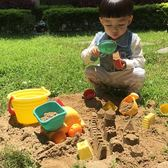 兒童沙灘玩具車小孩子挖沙決明子套裝 嬰兒寶寶戲水洗澡玩具  小時光生活館