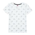 KAPPA義大利舒適小童吸溼排汗男款圓領T恤 白 321B11W001