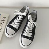 DE shop~(GG-5733)白色百搭ulzzang板鞋拼色帆布鞋平底鞋小白鞋熱賣款帆布鞋