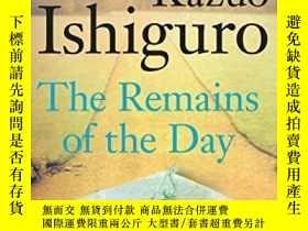 二手書博民逛書店The罕見Remains Of The DayY256260 Kazuo Ishiguro Faber &am