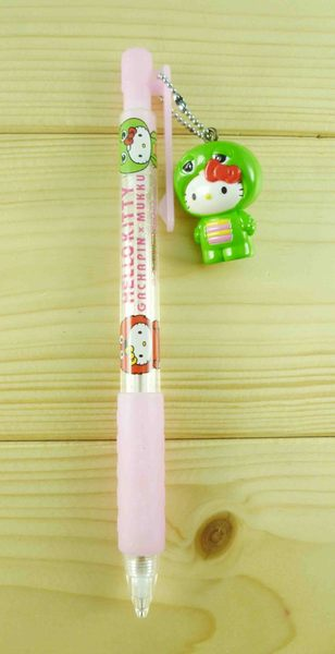 【震撼精品百貨】Sesame Street_芝麻街~自動鉛筆-KITTY聯名款-綠