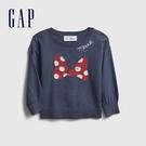Gap女幼童 Gap x Disney 迪士尼聯名圓領針織衫 649483-藍色