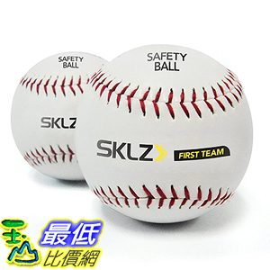 [美國直購] SKLZ FT-SAFBL-06 Reduced Impact Safety Baseballs (Pack of 2) 棒球