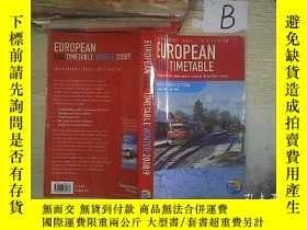 二手書博民逛書店EUROPEAN罕見RAI; TIMETABLE 2008 9 歐洲RAI;時間表2008 9 A01Y261