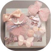 兒童發夾頭飾公主淑女寶寶發箍皇冠頭飾可愛嬰兒發夾發量少安全夾艾尚旗艦店