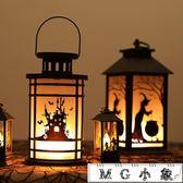 聖誕節飾品-圣誕節仿真火焰燈酒吧桌面擺件圣誕樹場景布置手提小油燈裝飾道具 MG小象