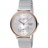 ALBA雅柏日系生活時尚腕錶  VD77-X007KS  A3A016X1