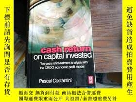 二手書博民逛書店cash罕見return on capital invested